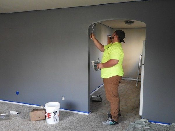 peindre maison neuve