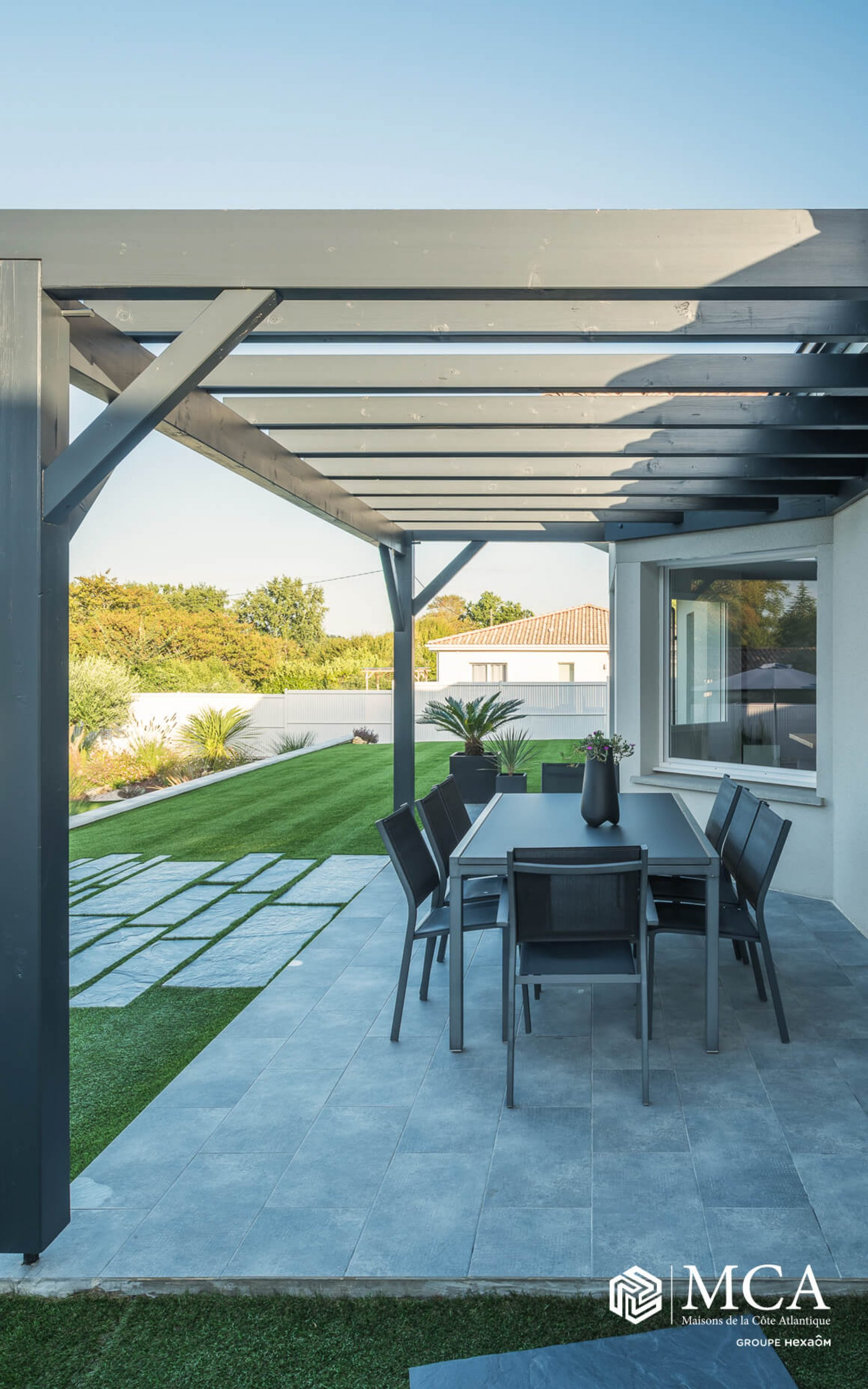 Maison contemporaine en Gironde | Maisons MCA
