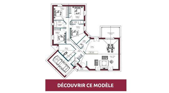 Plan Maison 4 Chambres Maisons Mca