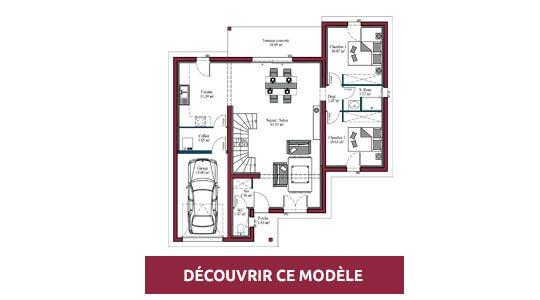 plan maison moderne Eden