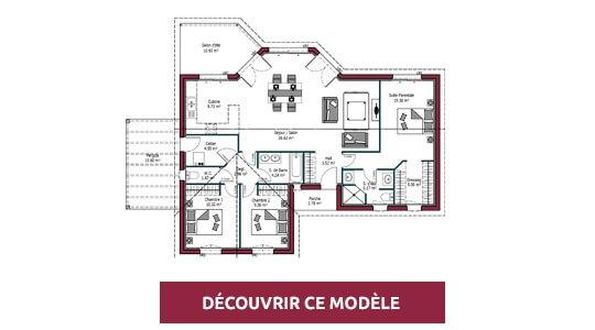 plan maison moderne lumiere