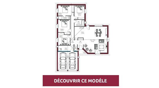 plan maison plain pied atlanta
