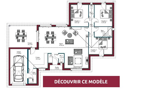 plan maison plain pied evolution