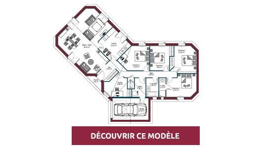 plan maison plain pied floride
