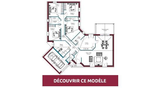 plan maison plain pied oleron
